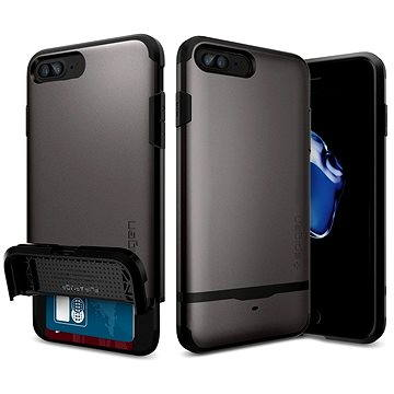 Spigen Flip Armor Gunmetal iPhone 7 Plus (043CS20776)