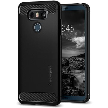 Spigen Rugged Armor Black LG G6 (A21CS21230)