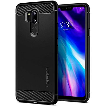 Spigen Rugged Armor Black LG G7 ThinQ (A27CS23033)