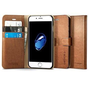 Spigen Wallet S Brown iPhone 7 (042CS20546)