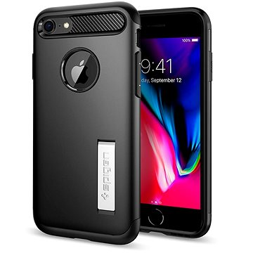 Spigen Slim Armor Black iPhone 7/8 (042CS20647)