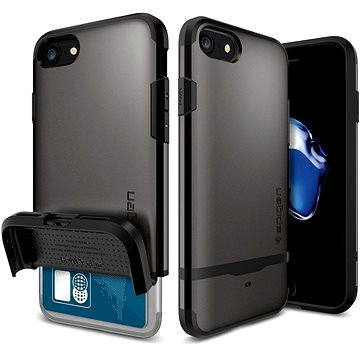 Spigen Flip Armor Gunmetal iPhone 7 (042CS20775)