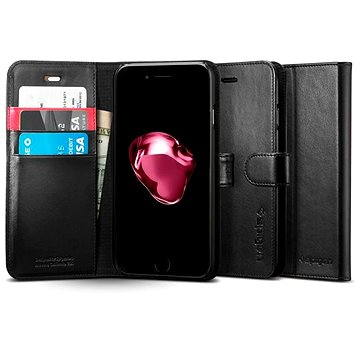 Spigen Wallet S Black iPhone 7 Plus (043CS20543)
