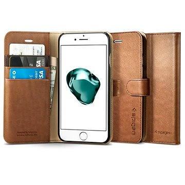 Spigen Wallet S Brown iPhone 7 Plus /8 Plus (043CS20544)