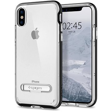 Spigen Crystal Hybrid Black iPhone X (057CS22147)