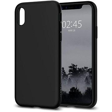 Spigen Liquid Crystal Matte Black iPhone X (057CS22119)