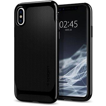 Spigen Neo Hybrid Shiny Black iPhone X (057CS22166)