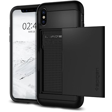Spigen Slim Armor CS Black iPhone X (057CS22155)