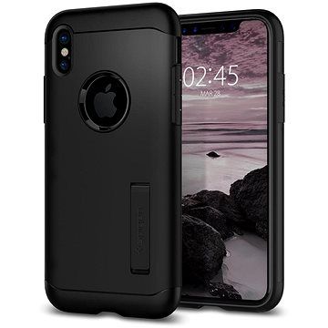 Spigen Slim Armor Black iPhone X (057CS22138)