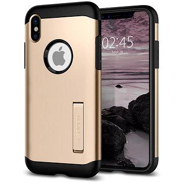 Spigen Slim Armor Gold iPhone X (057CS22136)