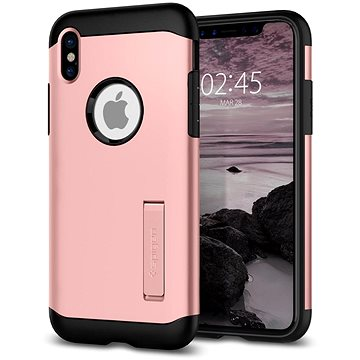 Spigen Slim Armor Rose Gold iPhone X (057CS22139)