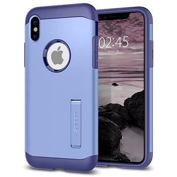 Spigen Slim Armor Violet iPhone X (057CS22137)