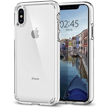 Spigen Ultra Hybrid Crystal Clear iPhone X (057CS22127)