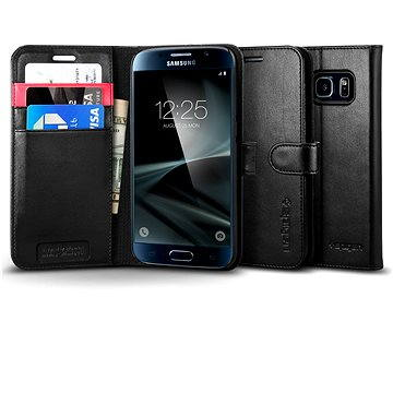 SPIGEN Wallet S Black Samsung Galaxy S7 (555CS20027)