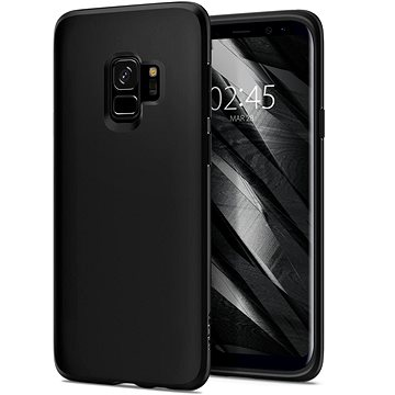 Spigen Liquid Crystal Matte Black Samsung Galaxy S9 (592CS22825)
