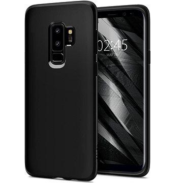Spigen Liquid Crystal Matte Black Samsung Galaxy S9+ (593CS22912)