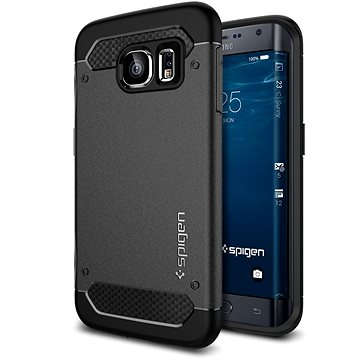 Spigen Rugged Armor Black Samsung Galaxy S6 Edge+ (SGP11698)