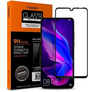 Spigen Glass FC HD Black Huawei P30 Lite/P30 Lite NEW EDITION (L39GL26019)