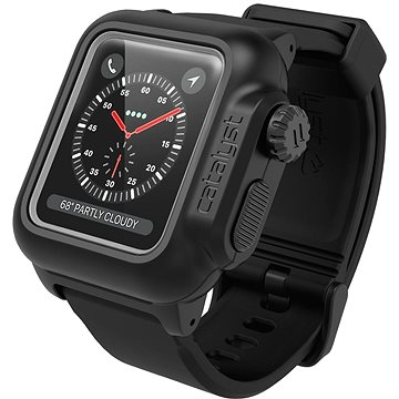 Ochranné pouzdro Catalyst Waterproof Case Black Apple Watch 3/2 38mm (CAT38WAT3BLK)