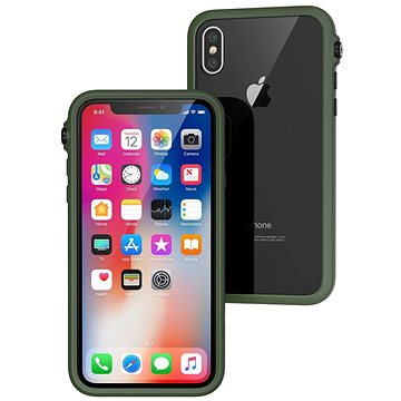 Catalyst Impact Protection Case Green iPhone X (CATDRPHXGRN)