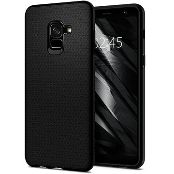 Spigen Liquid Air Matte black Samsung Galaxy A8 (2018) (590CS22747)