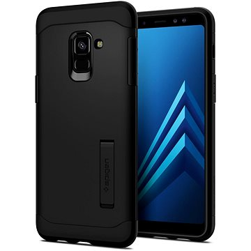 Spigen Slim Armor Black Samsung Galaxy A8 (2018) (590CS22753)