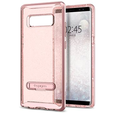 Spigen Crystal Hybrid Glitter Rose Gold Samsung Galaxy Note 8 (587CS21845)
