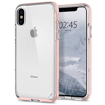 Spigen Neo Hybrid Crystal Rose Gold iPhone X (057CS22173)