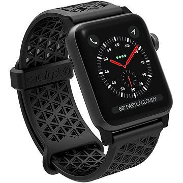 Catalyst Sport Band Black Apple Watch 42mm (CAT42SBBLK)