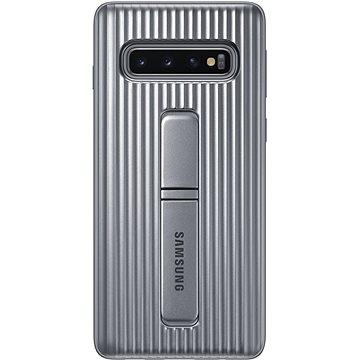Samsung Galaxy S10 Protective Standing Cover stříbrný (EF-RG973CSEGWW)