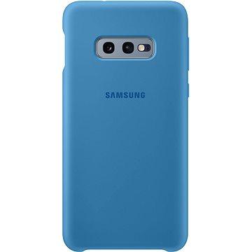 Samsung Galaxy S10e Silicone Cover modrý (EF-PG970TLEGWW)