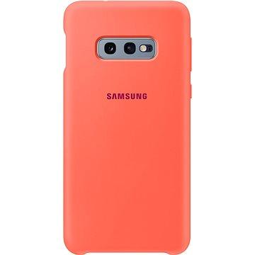 Samsung Galaxy S10e Silicone Cover neonově růžový (EF-PG970THEGWW)