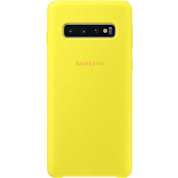 Samsung Galaxy S10 Silicone Cover žlutý (EF-PG973TYEGWW)