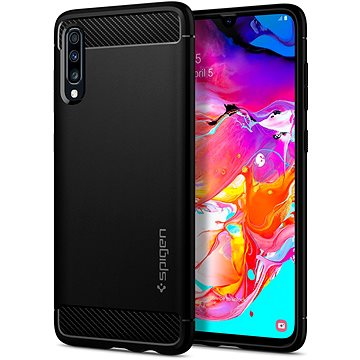 Spigen Rugged Armor Black Samsung Galaxy A70 (620CS26386)