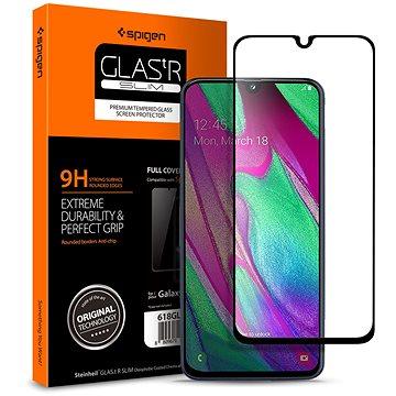 Spigen Glass FC Black Samsung Galaxy A40 (618GL27302)