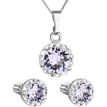 EVOLUTION GROUP 39352.3 violet s krystaly Swarovski® (stříbro 925/1000; 3 g) (8590962394658)