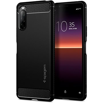 Spigen Rugged Armor Black Sony Xperia 10 II (ACS01382)