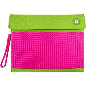 Pixelové pouzdro na tablet zeleno-růžové 10 (6955185807095)