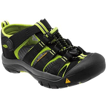 Keen Newport H2 Jr. black/lime green EU 35 / 216 mm (887194188277)