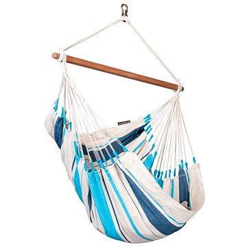 LA Siesta Caribeňa sedačka single aqua blue (4025122115070)