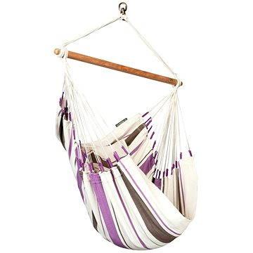 LA Siesta Caribeňa sedačka single purple (4025122917377)