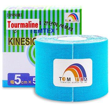 Tejp Temtex tape Tourmaline modrý 5 cm (8809095691054)