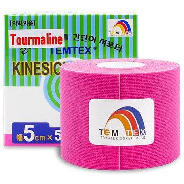 Tejp Temtex tape Tourmaline růžový 5 cm (8809095691061)
