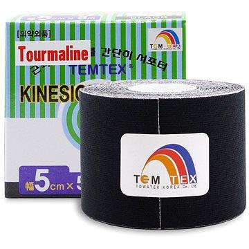 Tejp Temtex tape Tourmaline černý 5 cm (8809095691078)