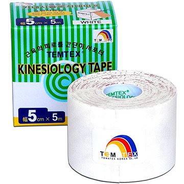 Tejp Temtex tape Tourmaline bílý 5 cm (8809095691085)