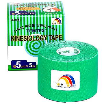 Tejp Temtex tape Tourmaline zelený 5 cm (8809095691092)