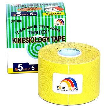 Tejp Temtex tape Tourmaline žlutý 5 cm (8809095691108)