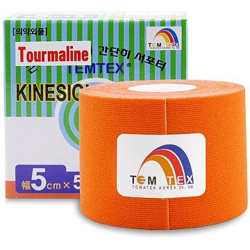 Tejp Temtex tape Tourmaline oranžový 5 cm (8809095691115)