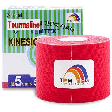 Tejp Temtex tape Tourmaline červený 5 cm (8809095691122)