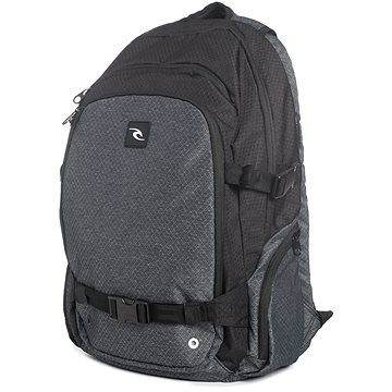 Rip Curl Posse Ripstop Heather Black (9346799152898)
